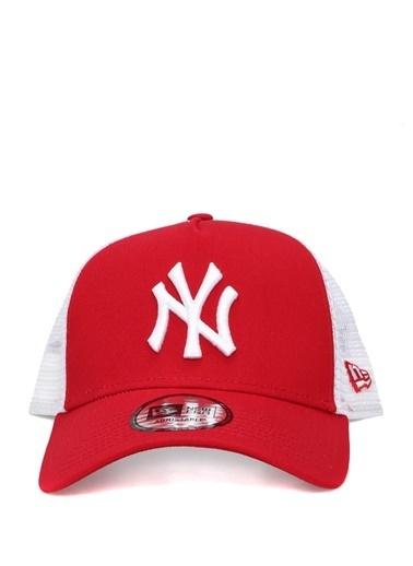 New Era New Era Clean Trucker  File Garnili Erkek Şapka 101549639 Kırmızı